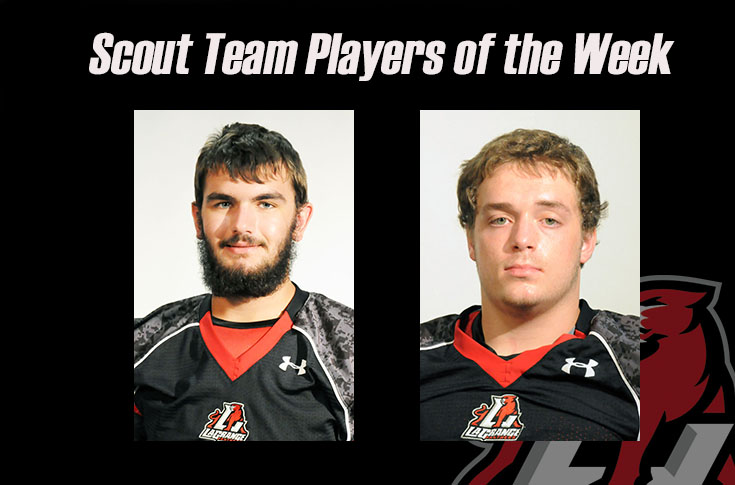 Football: Cody Mills, Austin Wagner named as Scout Team Players of the Week