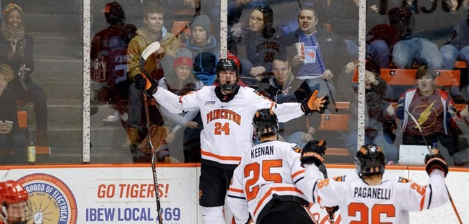 Thom has two point night as Princeton loses to Cornell