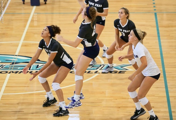 Volleyball Concludes Catawba Valley Tournament 1-3