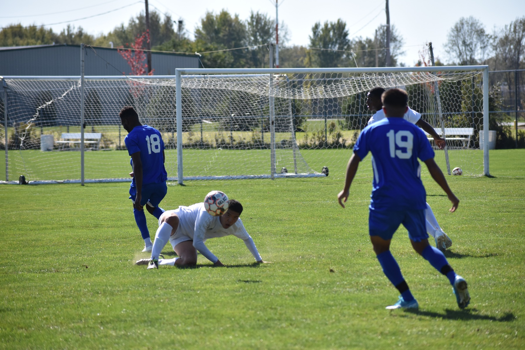 Men's soccer upended in Region Finals