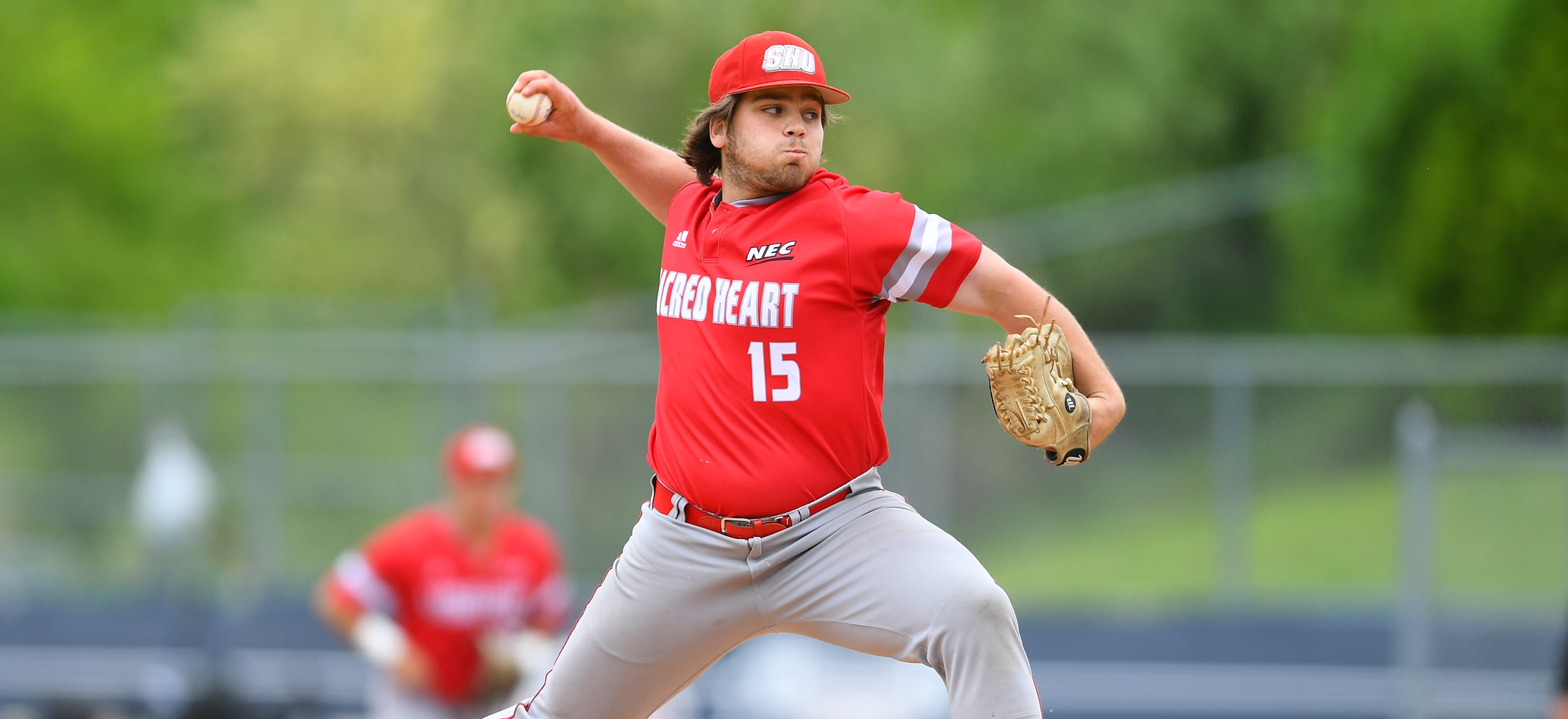 Matt Aufiero picked up his second win of the year, with 2.0 scoreless innings of relief versus Ball State on Friday. (Credit: Steve McLaughlin)