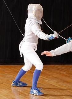"Blue Fencing Opens Season at ""The Big One"""