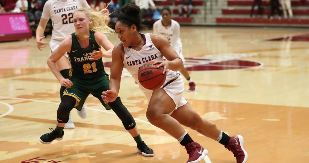 Women's Basketball Back on the Road for Gonzaga Saturday