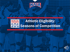 Athletic Eligibility video