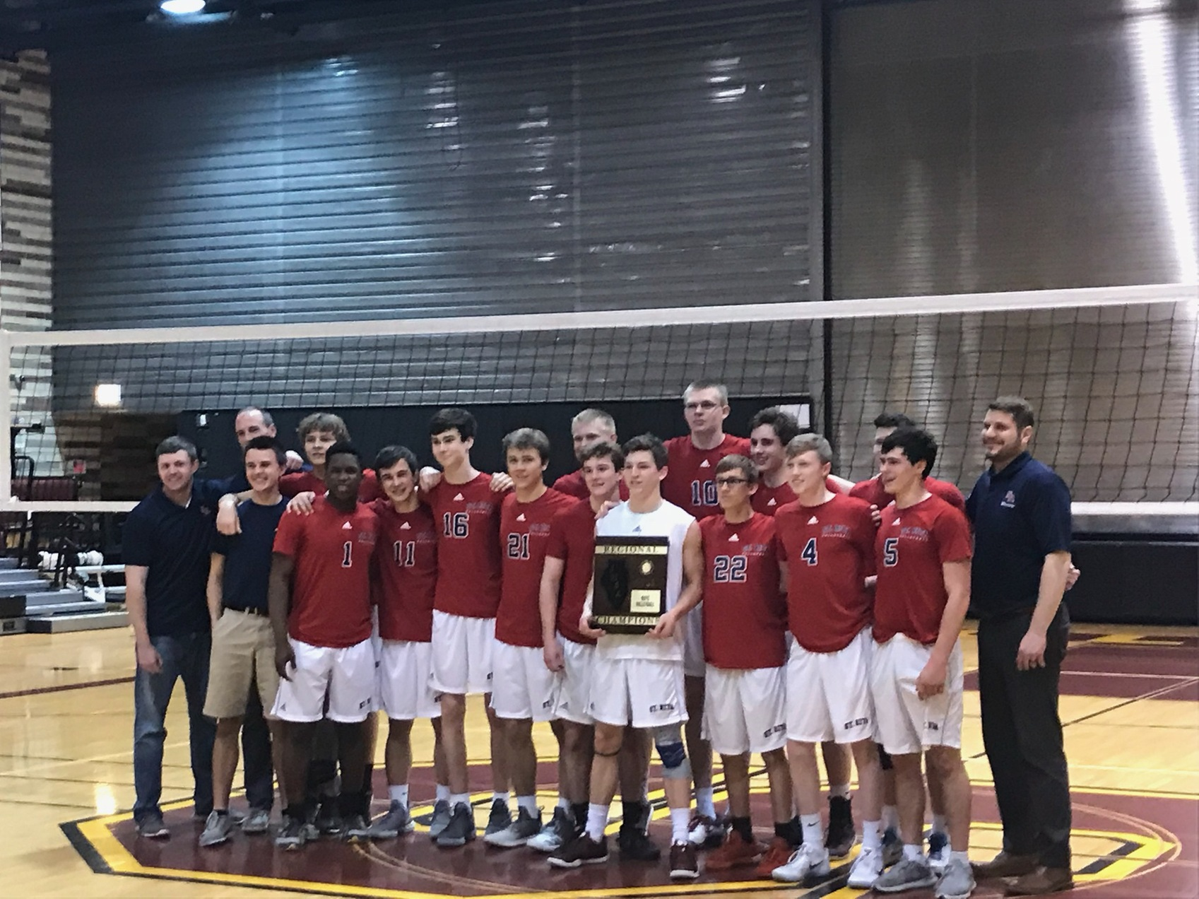 Congrats to the St. Rita Volleyball team for winning the Regional Finals!