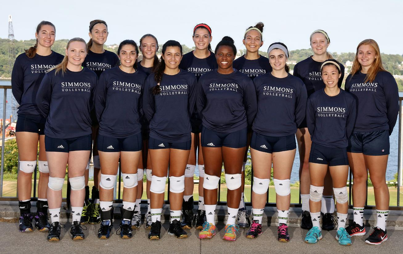 2015 Simmons Volleyball Roster Simmons College