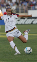 Bronco Women's Soccer Alum Leslie Osborne Helps USA To 2-0 Victory Over Sweden In World Cup Action