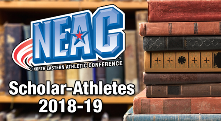 Wells Ranks Highly In NEAC Scholar-Athlete List