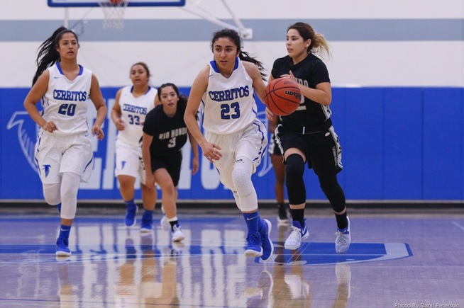 File Photo: Jessica Gomez scored 20 points in the consolation championship game