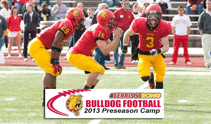 Bulldog Football Officially Reports For 2013 Preseason Camp