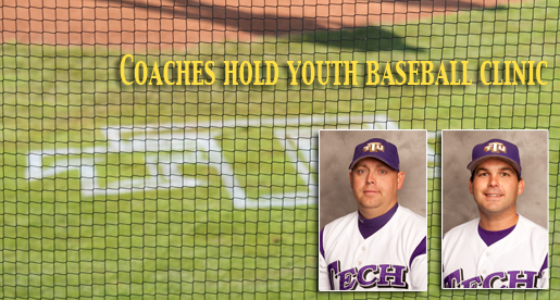 Tennessee Tech baseball coaching staff holds youth league pre-season camp series