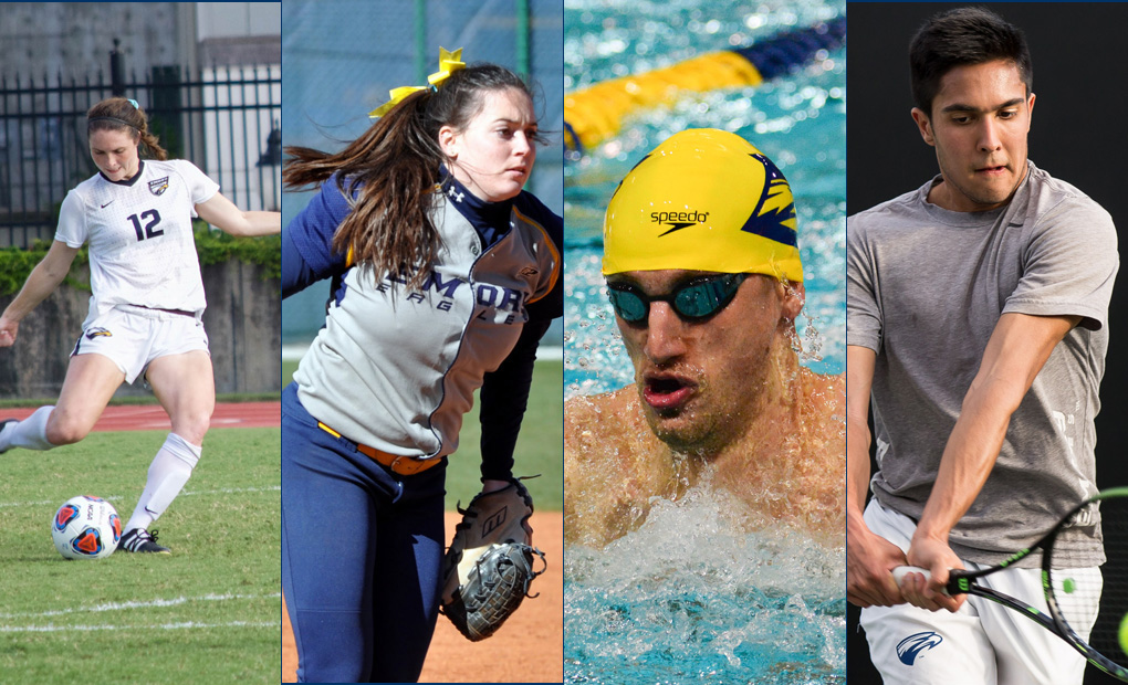 Ten Student-Athletes Recognized As Emory 100 Senior Honorary