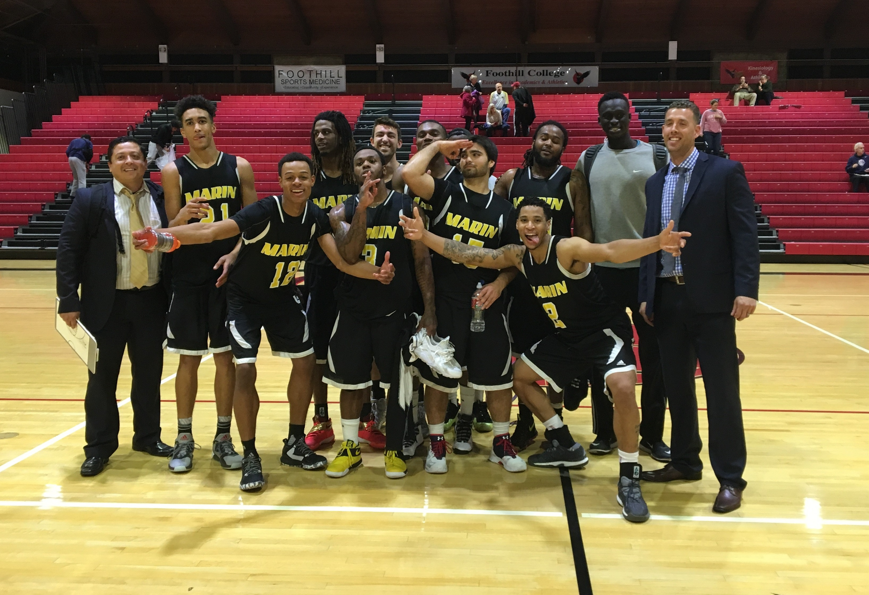 Mariners Upend Butte College 80-66 To Capture Foothill Tournament Title