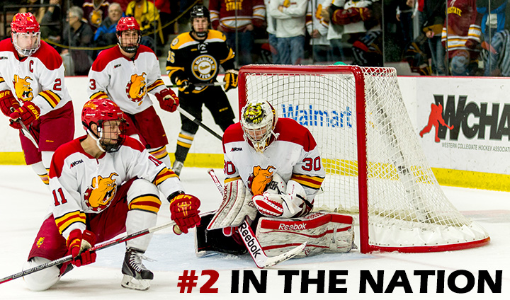 Ferris State Hockey Moves Back To Second In Nation This Week