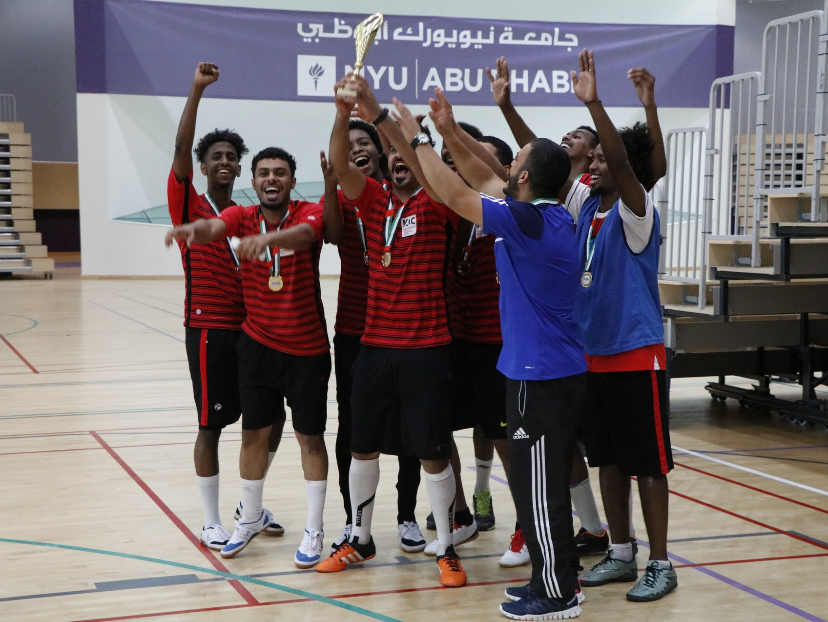 Khawarizmi International College champions