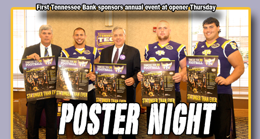 First Tennessee Bank Poster Night is Thursday at Tucker Stadium