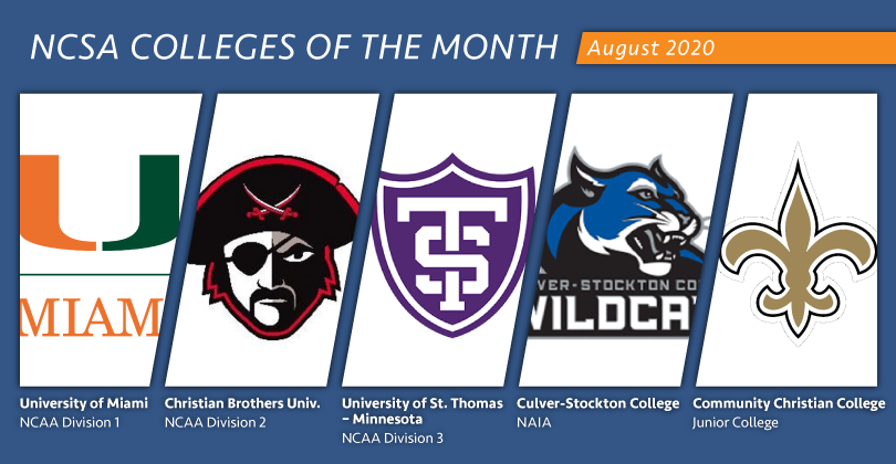 Tommies named NCSA D3 College of the Month again