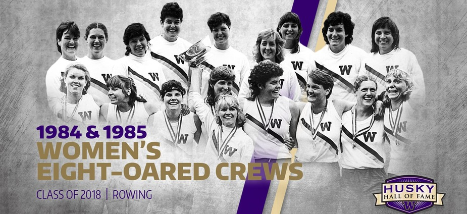 Head Rowing Coach Inducted to University of Washington Husky Hall of Fame