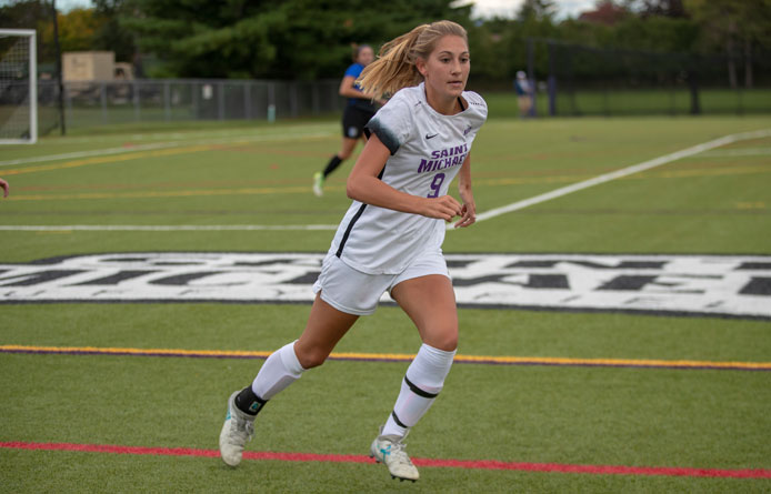 Women's Soccer Downed by Pace, 3-0, in NE10 Matchup