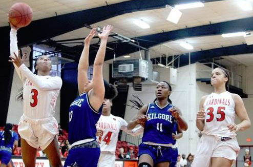 IN A ROMP: No. 2 Lady Cards roll by Kilgore, 109-60