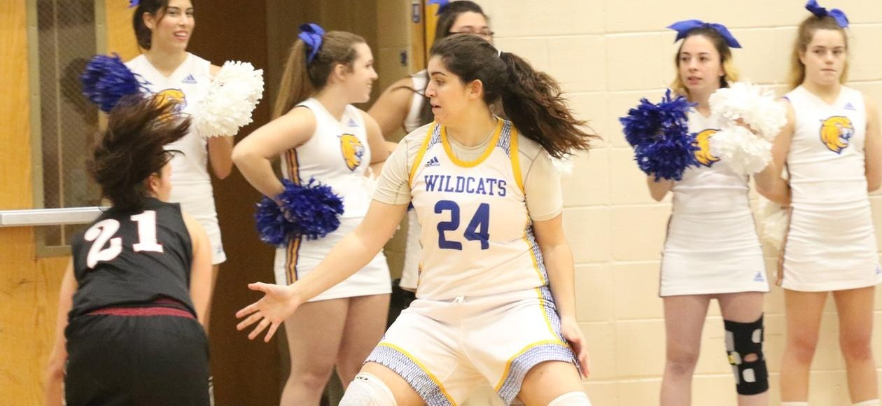 Wildcats Fall 72-46 at Colby-Sawyer