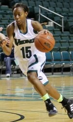 Cori Coleman had a team-high 16 points against Youngstown State