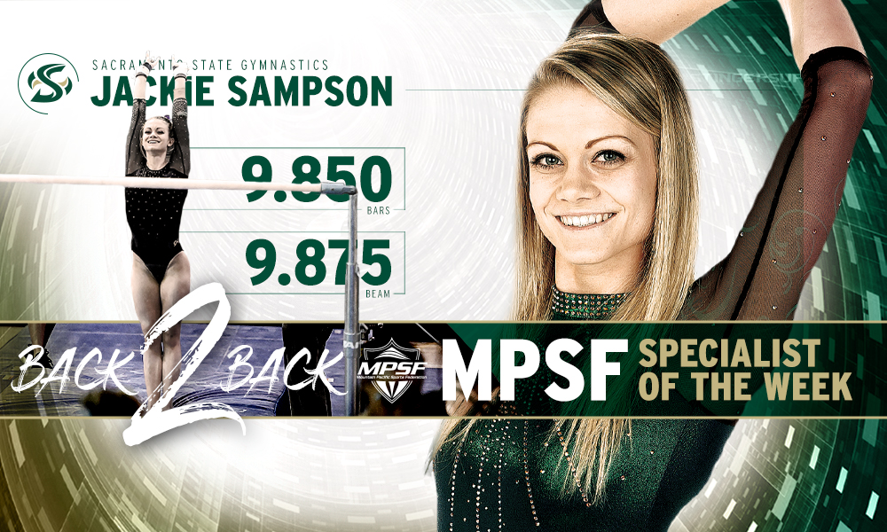 SAMPSON EARNS SECOND CONSECUTIVE MPSF SPECIALIST OF THE WEEK AWARD