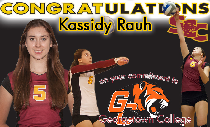 Rauh commits to play at Georgetown College next season