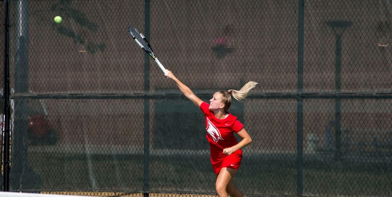 Women's Tennis Notches 6th Victory in 7-2 Decision Over Tiffin