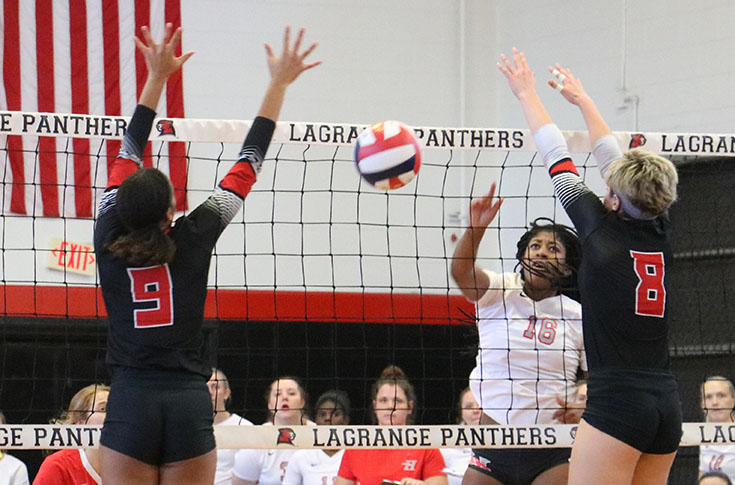 Volleyball: Huntingdon stops Panthers in non-conference match