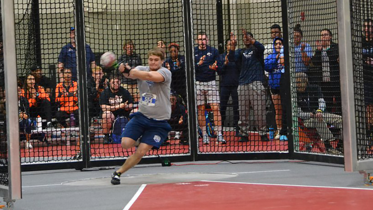 Tritons place 3rd and 5th at NJCAA Track and Field Indoor Championships