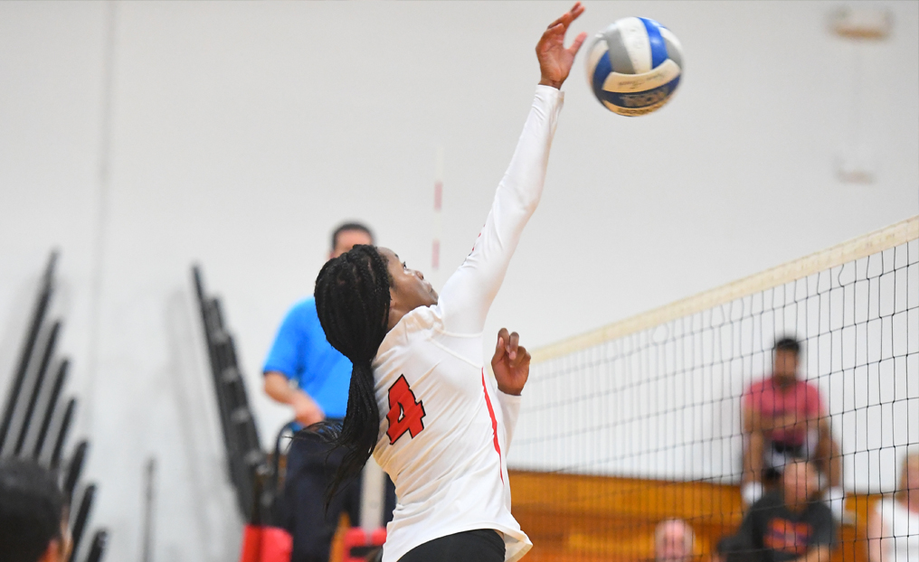 Volleyball Surges Past Medgar Evers