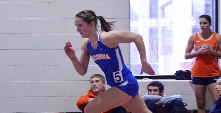 School records help Women's Track & Field to third place at NACC meet