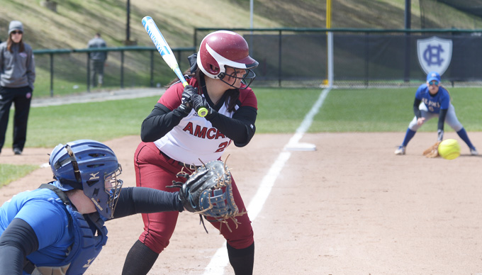 Cadets March to Two-Game Sweep over Softball