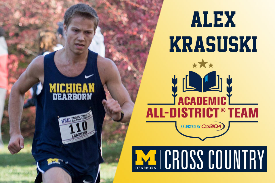 Photo for Krasuski named to CoSIDA Academic All-District Team