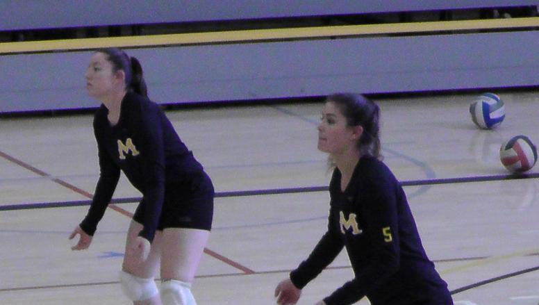 College of Marin Volleyball Takes Down Alameda For First Win of the Year