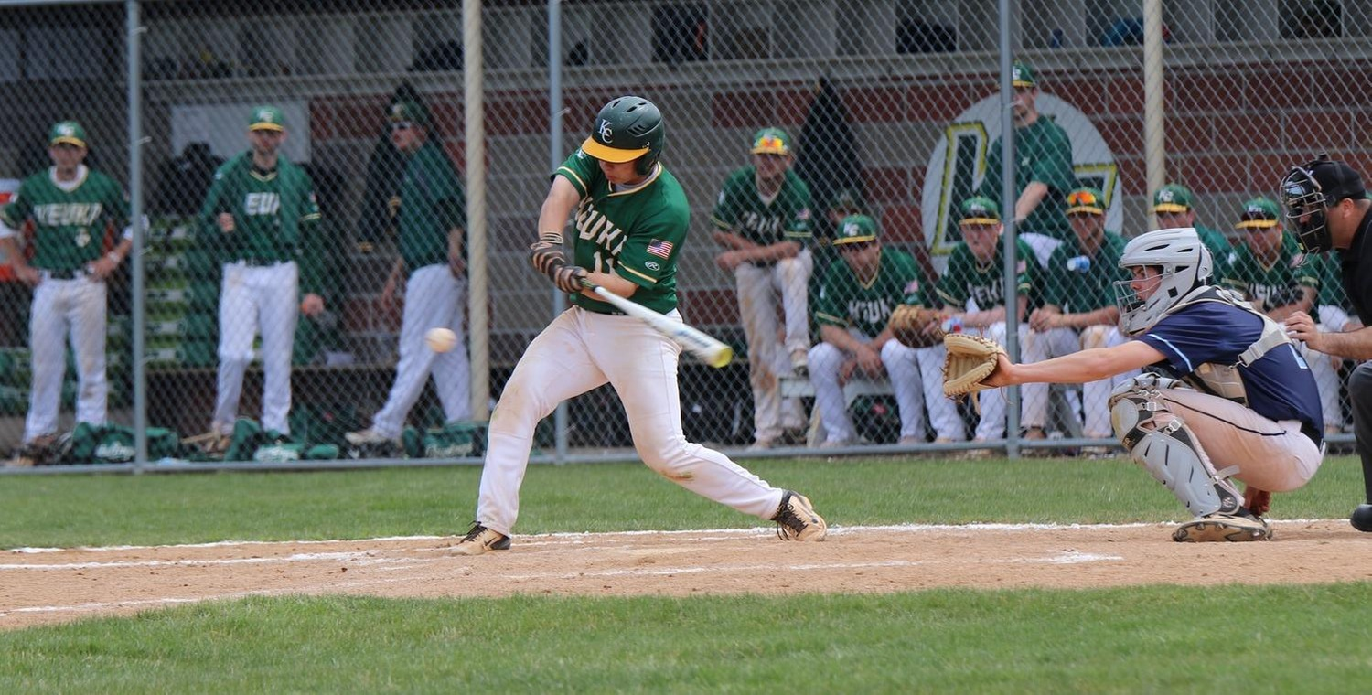Dakota Skinner (11) led Keuka College with four hits on Saturday -- Photo by Sarah Tyler