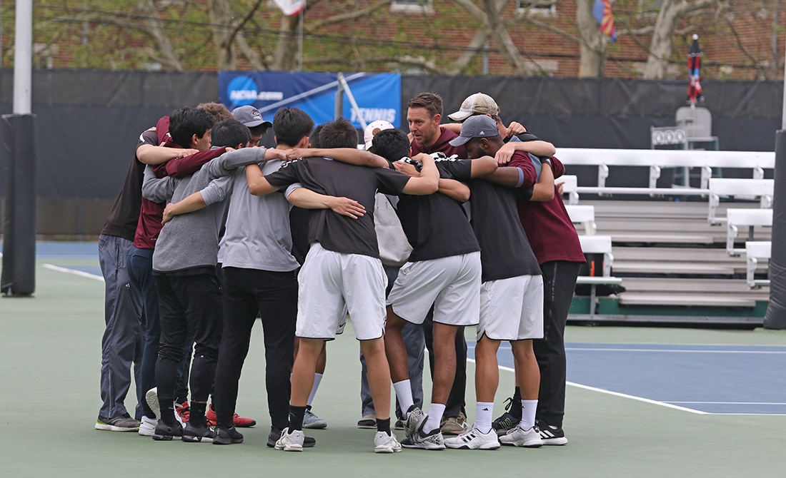 Maroon Men's Tennis Finish Season in NCAA Semifinals with 5-1 Loss to Claremont-Mudd-Scripps
