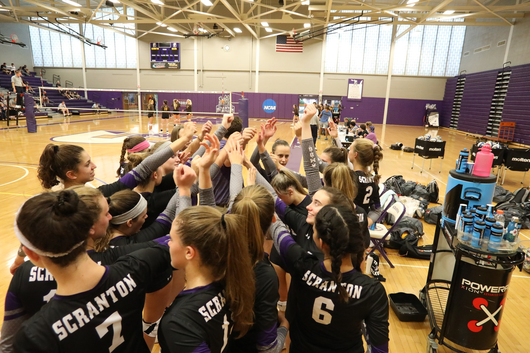 Volleyball Falls to University of Northwestern, Hunter at North Jersey Challenge