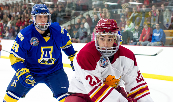 #10 Ferris State Wraps Up Six-Game Homestand Hosting Alaska This Weekend
