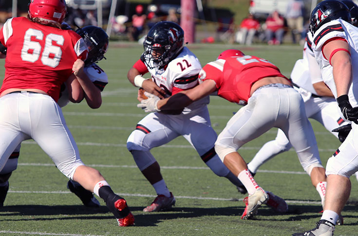 Football: Panthers end season with 42-14 loss at Huntingdon