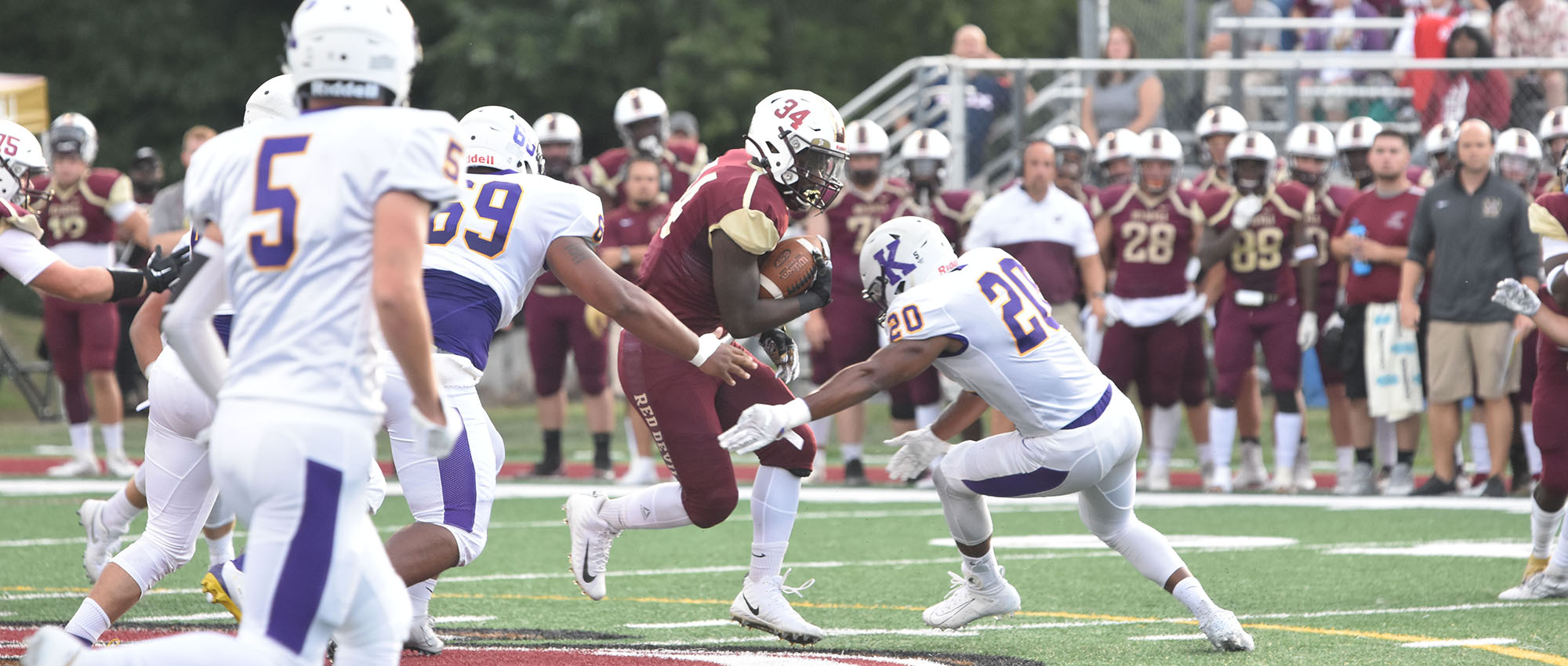 Eureka Edges Wisconsin Lutheran in OT for First NACC Win, 26-20