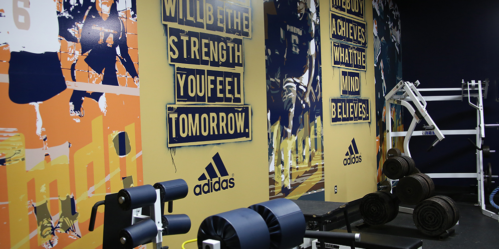 ICC unveils Don and Judi Harris Weight Room
