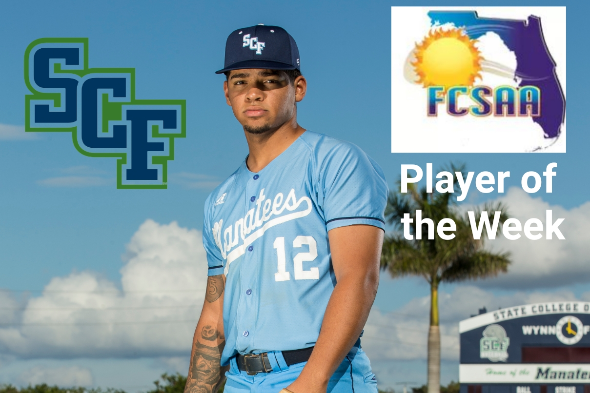 Austin James Earns NJCAA Region 8 Player of the Week