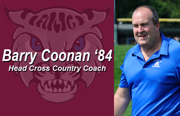 Barry Coonan '84 Named Cross Country Head Coach