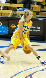 Gauchos Unable to Blemish Mustangs' Perfect Mark in Narrow Defeat