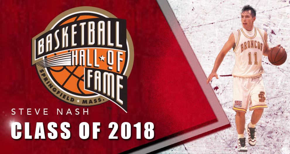 Nash Inducted into Naismith Memorial Basketball Hall of Fame