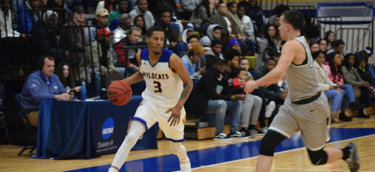 Men's Basketball Holds on to Beat Rhode Island College 70-62