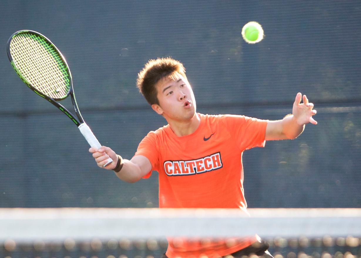 Liu, Men's Tennis Put SCIAC on Notice at ITA West Regional