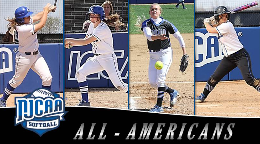 Photo for Softball quartet earns All-American honors